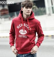 2014  men's Fashion leisure   Loose printing sport  Hooded hedging Sweatshirts Y0591