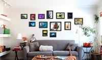 Photo Frame Moldura Foam Home Living Room Wall Mounted Creative FP-13-2-B Decoration Art Home Decor Wall Stickers Photo Albums