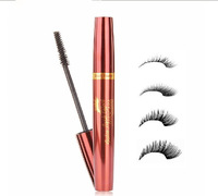 New Arrival Makeup Mascara Lengthening Water Proof Black Color Growth Liquid for False Eyelashes Free Shipping