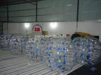 12 pcs 1.2M Bubble Football Body Zorbing Free shipping (6Blue dot + 6yellow dot ) 5% off Discount
