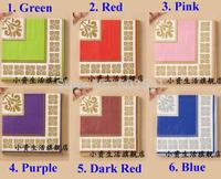Color printing paper towel napkins wedding Kleenex tissue paper handkerchiefs European fashional B210-216