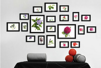 Photo Frame Moldura Wood Home Living Room Wall Mounted Creative SM-20C-B Decoration Art Home Decor Wall Stickers Photo Albums