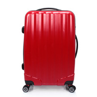 2014 Limited Women Mochila New Abs+pc Universal Wheel Rod Box Frosted Suitcase 20 Inch 24 28 Landing Chassis Free Shipping