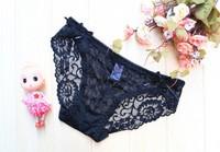 New 2014 Sexy Fashion Women's Bikini Lingerie Underwear Lace Panties Briefs Knickers