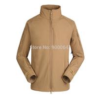 Outdoor Men's Jacket commanders sharkskin Soft Shell Waterproof Jacket soft shell