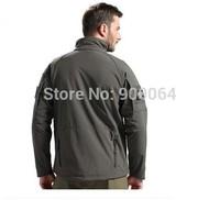 Army Tactical TAD Shark Skin Commander Military Softshell Outdoor Jacket Men Sport Thermal Waterproof Windbreaker Active Jackets