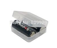 20pcs /lots Hotsales Hard Plastic Case Holder Storage Box for 26650 Battery  case holds 2 batteries