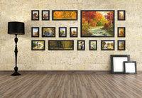 Photo Frame Moldura Foam Home Living Room Wall Mounted Creative FP-16-2-B Decoration Art Home Decor Wall Stickers Photo Albums