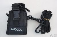 Baofeng GT-3 mark II Nylon carry case/bag MSC-20A for walkie talkie wouxun tyt pofung
