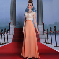 Handmade Vestido De Festa Ladies Long Evening Dresses Formal Dresses Silk Embroidered Crystal Evening Gown Long Evening Dress
