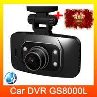 GS8000L portable Car DVRS Novatek 2.7inch HD 1982x1080P HDMI Car Camera Video Recorder 140 Angle G-sensor