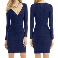 Style NumberL170 European stgie womens topgrade biack bandage dress