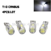4x ERROR FREE T10 CanBus White Crystal Blue Samsung LED Super Bright Car Light Bulb Lamp194 904 168 W5W