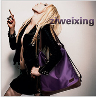 new European and American fashion women shoulder bag diagonal package portable shoulders back multifunction handbag leisure bag