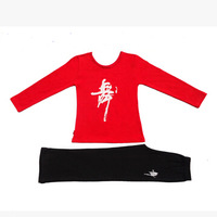 Girl Spring And Autumn Latin Dance Dress Clothing Children Latin Salsa Dresses Long Sleeve Exercise Suit 5 Colors FC222