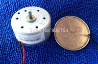 free shipping  5pcs/lot  300 micro dc motor  solar  toys Dd 3v 4.5v 6v for DIY