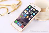 """50 pcs/lot Super Luxury Aluminum Metal Case Thin 0.6mm Aluminium Frame Bumper Cases For iphone 6 Air 6G 6 iphone6 4.7"""" iphone 6"""