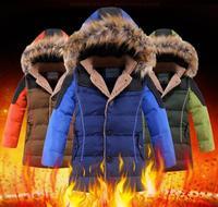 2014 new children's down jacket boy real fur collar boy coat winter jacket for boy boys winter jacket winter jacket kids