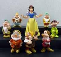 Princess Snow white and the Seven Dwarfs PVC Action Figures Dolls Toys 8pcs/set A-11