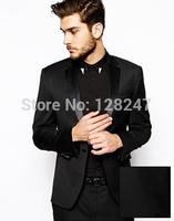 RT-0422 2015 new arrival Business slim flat designer fashion (jacket pants vest) groomsman custom made mens suits with jackets