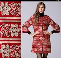 2015 New street fashion three quarter sleeve O-neck autumn coat winter wool jacket plus size woolen trench overcoat