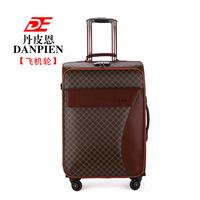 Danpin Pu business travel box 20 inch 24 inch suitcase pull rod box universal wheel landing chassis men and women -2066