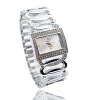 New Brand Simple Style Gold Plated Watch Women Ladies Fashion Crystal Quartz Dress Watch Wristwatches TW051