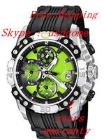 New  F16602 Men's Chrono Tour de France  Chronograph  Bike  Black  Rubber  Blue Quartz Watch
