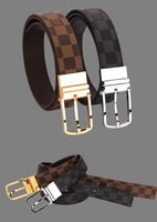 2014Men's leather belt buckle belt rotating needle leather belts for men and women14111901