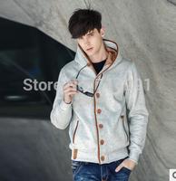 New style Autumn&Winter Fleece Cardigan Hoodie Jacket,Fashion  Hoodies Men,Casual Slim Sweatshirt Men,Sportswear Pullover Hooded