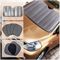 Car sunshade file Car sun-shading 6 set after summer sunscreen car sunshade blinds automobiles Car sun visor,Automobile sun
