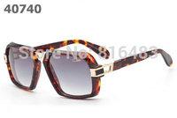 New fashion designer brand Cazal MOD6004 women men sunglasses vogue glasses vintage eyewear 8cols best quality free shipping