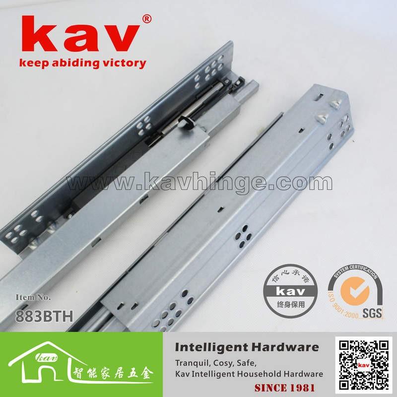 55 CM extensão total de slides de alumínio trilhos(China (Mainland))