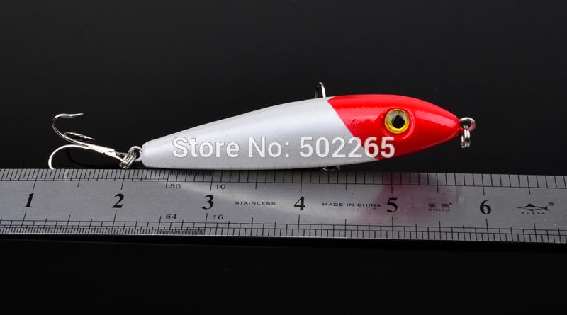 """1шт высокого качества рыбалка воблер 0.421oz-11.94g/4""""-10.16cm fishaing приманка 4# высокоуглеродистой стальной крюк рыболовные снасти"""