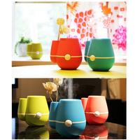 Vase 160ml USB Ultrasonic Mini Humidifier Air Purifier Mist Maker & Perfume Aroma Diffuser Atomizer for Health Care Three colors