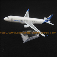 16cm Alloy Metal Prototype Air Airbus A320 Airlines ProtoMech Plane Model Development Aircraft  Airplane Model Toy Gift