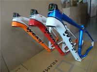 "Mountain bike frame carbon fiber frame 16"" 18"" ultra-light 1.19kg disc cone tube carbon rack"