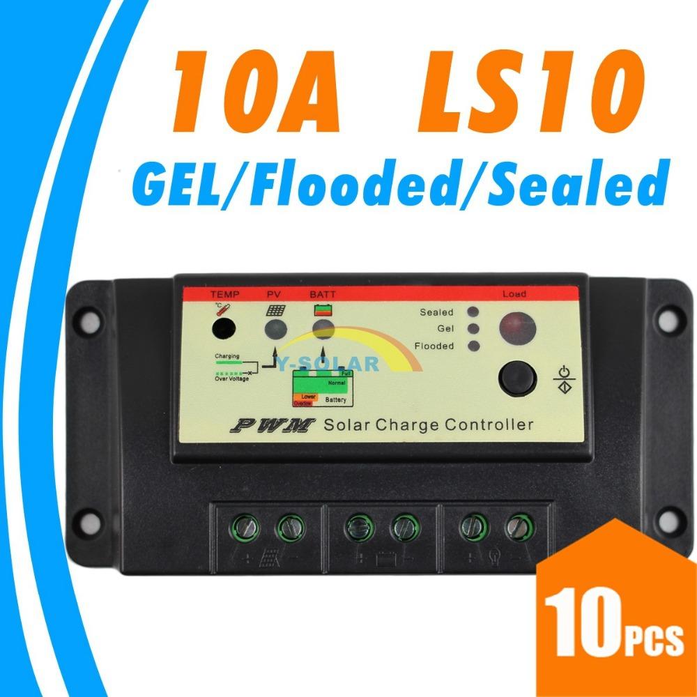 Солнечный контроллер EPsolar 10 ,  12V, 24V LS10 солнечный контроллер geree cmg 2420 12v 24v 1pcs lot mp003