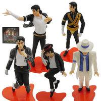 MJ Michael Jackson PVC Figures Film&Stage Classic series 5pcs/set
