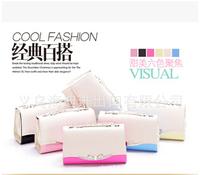 2014 new fashion ladies handbags Polka Dot Bow lovely ladies handbag multicolor