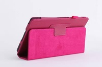 For Sony xperia Z3 Tablet Compact (SGP621) Smart Tablet Stand Litchi Leather Cover With Wake Up And Sleep Function,Free Ship
