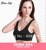 Leisure Women Seamless Bra Comfort Bras Genie bra With Removable Pads Free Shipping