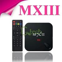(5pcs/lot) MXIII Android 4.4 Amlogic S802 Quad-Core MX3 BOX 1GB/8GB Google Android TV Box Support OTA XBMC Pre-installed