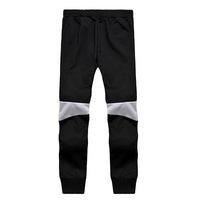 Retro Spell Color Hip Hop Men Low-Crotch Pants Casual Harem Pants Feet