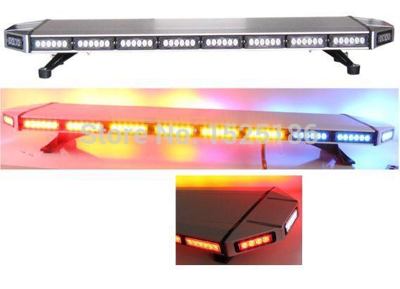 Free Shipping high bright Generation III 1Watt LED lightbar led light bar led warning lightbar amber led lightbar LAL-032A(China (Mainland))