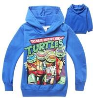 Hot Autumn boys Teenage Mutant Ninja Turtles sweatshirts kids cartoon long sleeve printed hoodies children's leisure sports tops