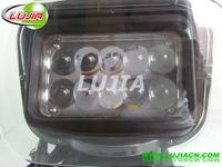 2014 new  50w led Work Light Square Offroad LED work light IP6712v 24v 6000K PC Lens SUV 4WD ATV with EMC function