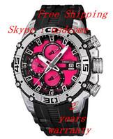 New 2014 F16600/8 Mens Tour De France Chronograph Bike  Black Rubber  Watch