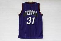 Free Shipping,2014 - 2015 Toronto basketball jersey and mesh quality #31 Ross basketball jersey