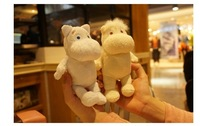 3D Channel Cartoon Plush Doll Phone Case For iPhone 6 4.7''/ Plus 5.5 Inch Christmas Gift Couple Protective Cover